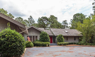 Pinehurst Single Family Home For Sale: 185 Quail Hollow Drive