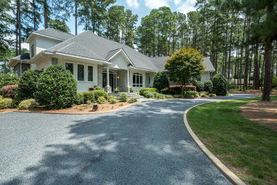 Pinehurst NC Single Family Home For Sale: $850,000