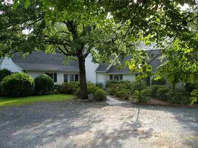 Moore County Single Family Home Active/Contingent: 2796 Camp Easter Road