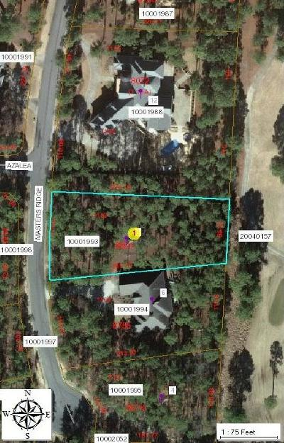 Southern Pines Residential Lots & Land For Sale: 8 Masters Ridge