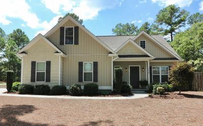Pinehurst Single Family Home For Sale: 115 Adams Circle
