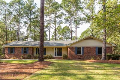 Pinehurst Single Family Home Active/Contingent: 225 Lake Forest Drive