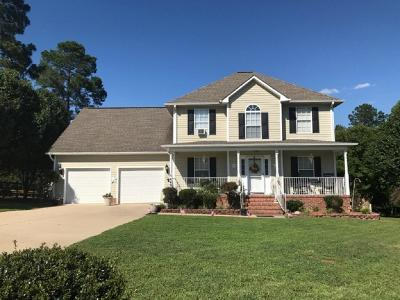 Cameron Single Family Home For Sale: 448 Yorkshire Drive