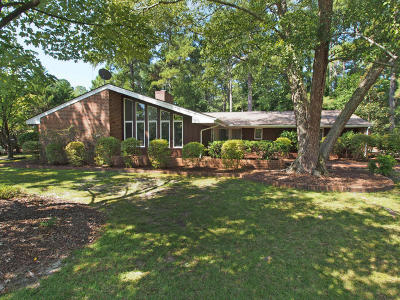 Pinehurst NC Single Family Home Active/Contingent: $195,000