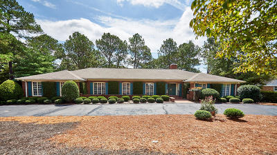Whispering Pines Single Family Home For Sale: 150 Pine Lake Drive