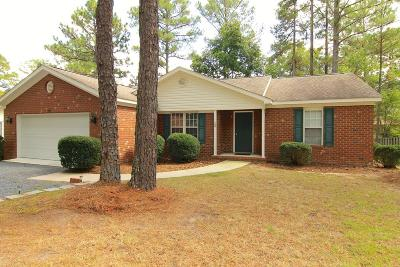 Pinehurst Single Family Home Active/Contingent: 20 Sandhills Circle