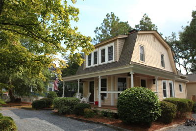 Pinehurst Single Family Home Active/Contingent: 105 Woods Road