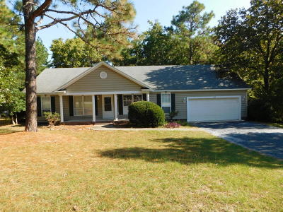 Pinehurst Single Family Home For Sale: 100 Sugar Pine Drive