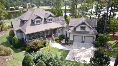 Aberdeen, Cameron, Carthage, Eagle Springs, Eastwood, Foxfire, Jackson Springs, Lakeview, Pinebluff, Pinehurst, Robbins, Seven Lakes, Southern Pines, Vass, West End, Whispering Pines, Woodlake Single Family Home For Sale: 404 Meyer Farm Drive