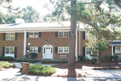 Southern Pines Condo/Townhouse For Sale: 317 Driftwood Circle #B
