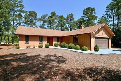 Southern Pines NC Single Family Home For Sale: $189,900