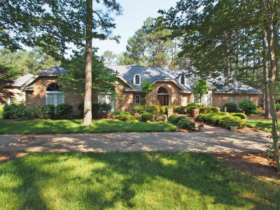 Moore County Single Family Home For Sale: 360 Lake Dornoch Drive