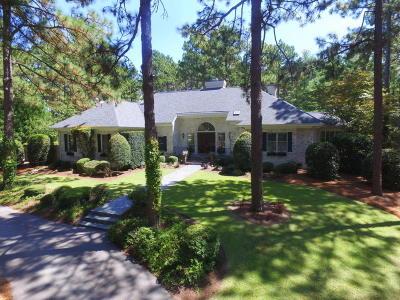Pinehurst NC Single Family Home For Sale: $860,000