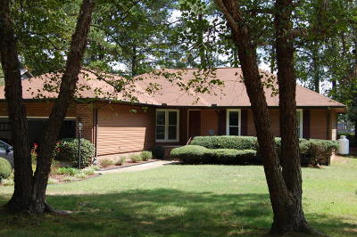 Vass NC Single Family Home For Sale: $189,900
