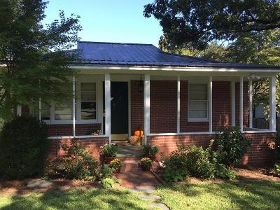 Southern Pines Single Family Home Active/Contingent: 440 N Ashe Street