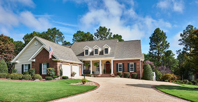 Southern Pines Single Family Home Active/Contingent: 102 Steeplechase Way