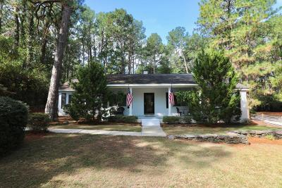 Southern Pines Single Family Home For Sale: 300 Midland Road