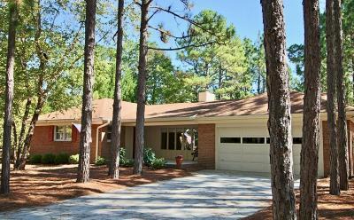 Pinehurst Single Family Home For Sale: 150 Adams Circle