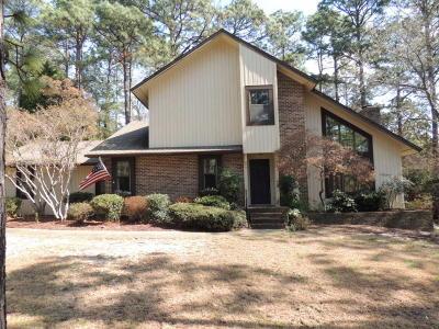 Pinehurst Single Family Home For Sale: 1280 St Andrews