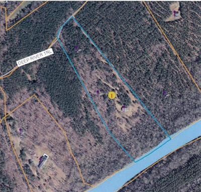 Carthage Residential Lots & Land For Sale: Lot 3 Deep River Road