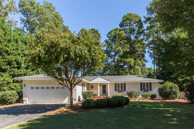 Pinehurst NC Single Family Home Active/Contingent: $339,000