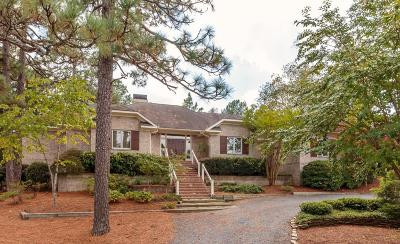 Pinehurst NC Single Family Home For Sale: $610,000