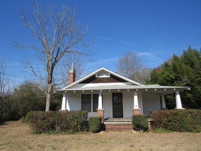Hoffman Single Family Home For Sale: 3613 Us Hwy 1 North