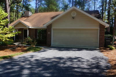 Pinehurst Single Family Home For Sale: 50 Rutledge Lane