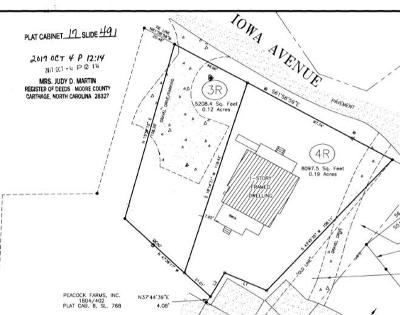 Southern Pines Residential Lots & Land For Sale: 340 W Iowa Avenue