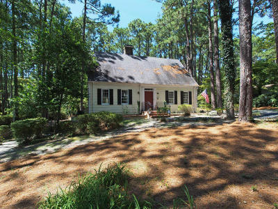 Southern Pines Single Family Home For Sale: 360 Fairway Drive