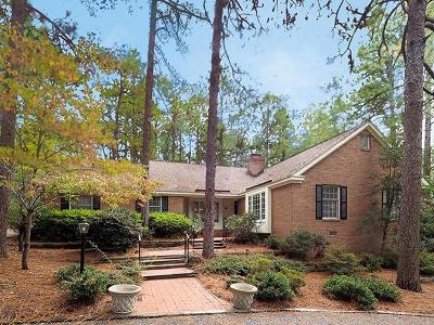 Southern Pines Single Family Home For Sale: 355 Fairway Drive