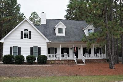 Pinehurst Single Family Home For Sale: 1460 E Longleaf Drive