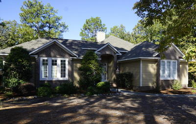 Pinehurst Single Family Home Active/Contingent: 62 Kilbride Drive