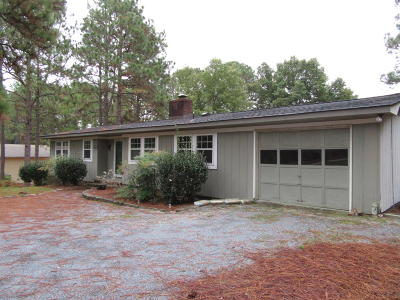 Moore County Rental For Rent: 17 Highland Drive