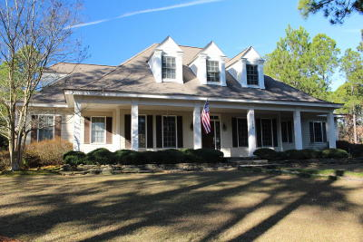 Southern Pines Single Family Home Active/Contingent: 110 Merced Court