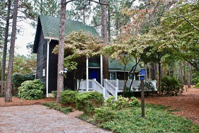 Moore County Single Family Home Active/Contingent: 1595 E Longleaf Drive