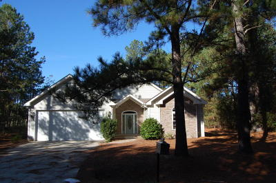 Vass NC Single Family Home For Sale: $205,000