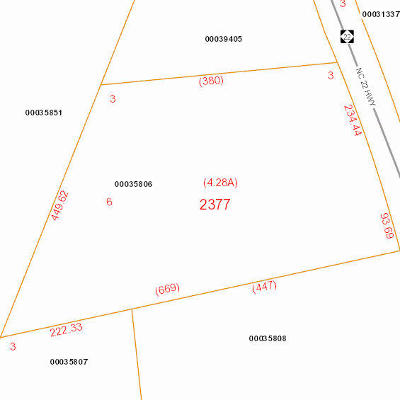 Carthage Residential Lots & Land Active/Contingent: Nc Highway 22