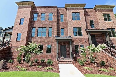 Southern Pines Condo/Townhouse For Sale: 33 Brownstone Lane