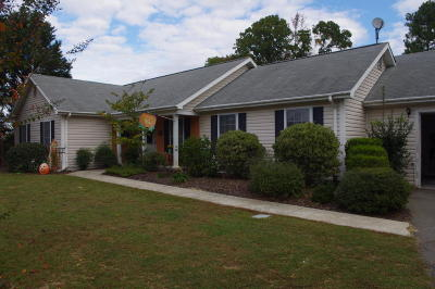 Carthage Single Family Home Active/Contingent: 2855 Union Church Road