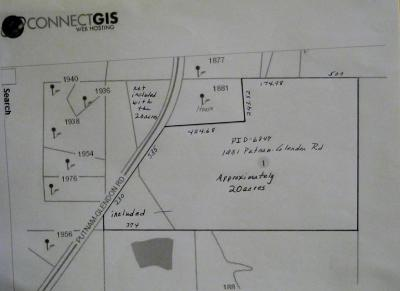 Carthage Residential Lots & Land Active/Contingent: 1931 Putnam-Glendon Rd.
