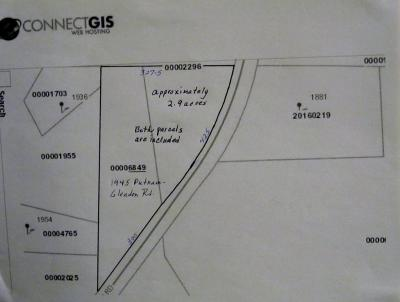 Carthage Residential Lots & Land Active/Contingent: 1945 Putnam-Glendon Rd.