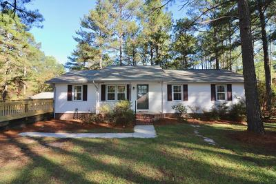Seven Lakes, West End Single Family Home Active/Contingent: 1340 Doubs Chapel Road