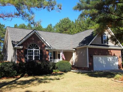Carthage Single Family Home Active/Contingent: 150 Cabin Hill Way