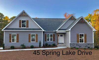 Pinehurst Single Family Home Active/Contingent: 45 Spring Lake Drive