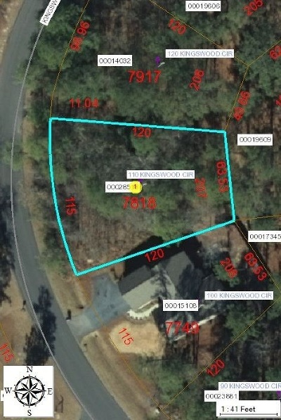 Pinehurst Residential Lots & Land Active/Contingent: 110 Kingswood Circle