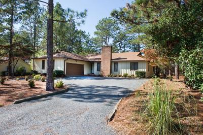Pinehurst Single Family Home For Sale: 95 Lost Tree Road