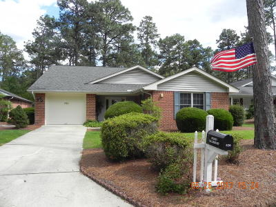 Pinehurst Single Family Home Active/Contingent: 150 Robin Lane