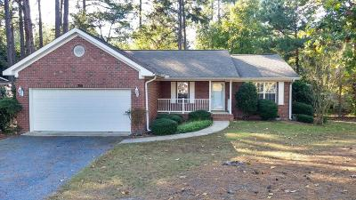 Pinehurst Single Family Home Active/Contingent: 355 Gun Club Drive