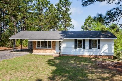 Southern Pines NC Single Family Home For Sale: $100,000